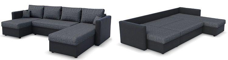VICCO XXL Sofa mit Schlaffunktion für 539,90€ (statt 590€)