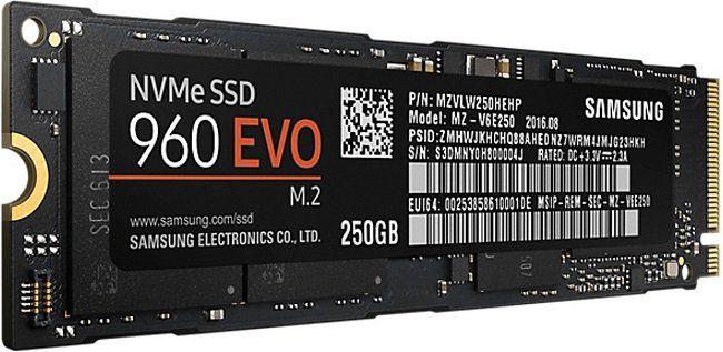 Samsung 960 Evo M.2 SSD mit 250 GB für 69€(statt 80€)