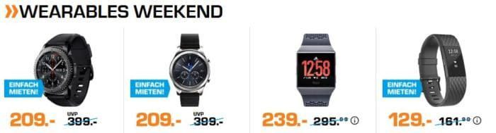 Saturn Weekend Sale: günstige TVs, Audio, Foto, Wearables und Waschtage
