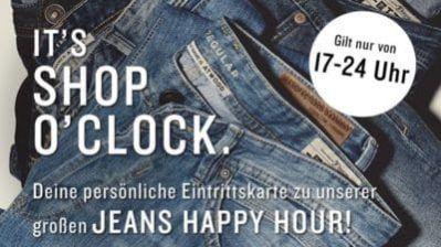 Top! Tom Tailor Happy Hour: 20% extra Rabatt auf Jeans bis Mitternacht