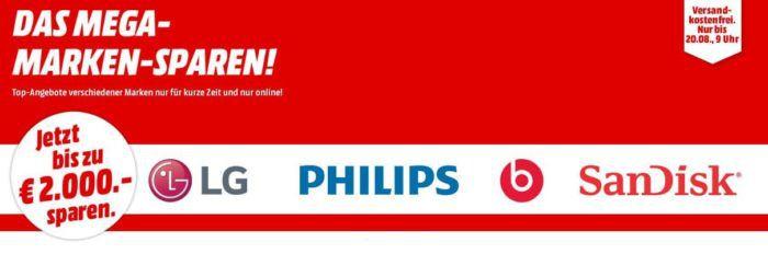 Media Markt Marken Sparen: günstige Artikel von LG, Philips, Beats und Sandisk