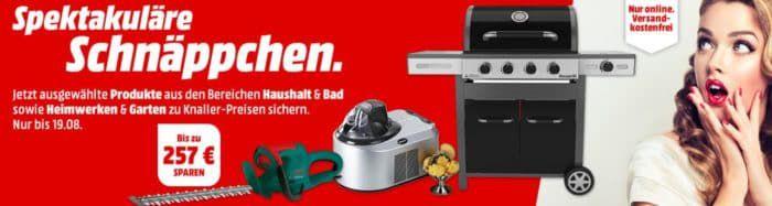 Bis Mitternacht: Media Markt Spektakuläre Schnäppchen: günstige Eismaschinen und Grills