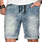 Sublevel Herren Jogg Bermuda Short Jeans (slim Fit) für je 19,90€) (statt 33€)