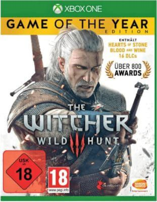 The Witcher 3: Wild Hunt GotY   XBox One Game für 22€ (statt 30€)