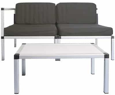 Living & Garden faltbares Lounge Set für 89,99€ (statt 144€)