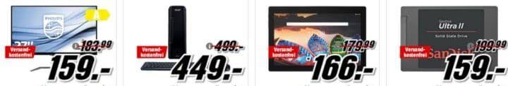 Media Markt coole Angebote: z. B. DJI Spark Combo + gratis Revell Drohne ab 479€ (statt 697€)