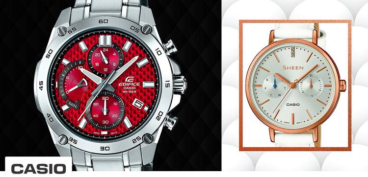 Casio Uhren Sale bei Vente Privee   Casio Edifice (EFR 557CD 1A9VUEF) ab 75,99€ (statt 112€)