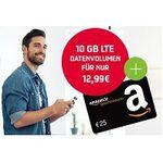 Telekom 10GB LTE mit max. 150MBit/s Datenflat für 12,99€ mtl. + 25€ Amazongutschein