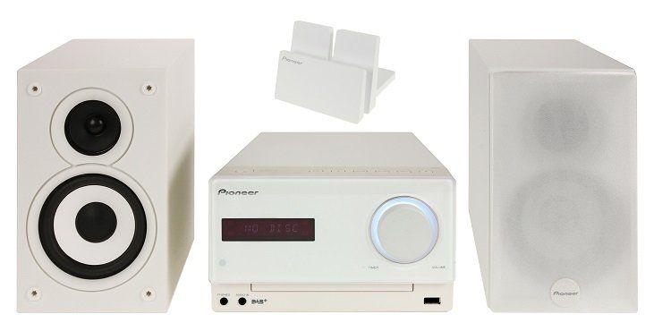 Pioneer X CM32BTD W DAB+ & Bluetooth HiFi Stereoanlage für 149€ (statt 175€)