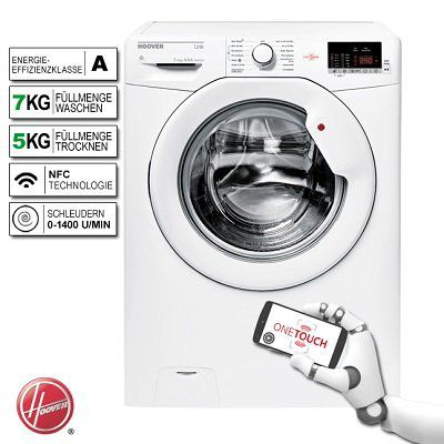 HOOVER HLW G475D 84 Dynamic Next Waschtrockner für 333,33€ (statt 438€)