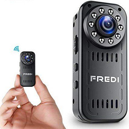 FREDI L16   1080p Mini WLAN Cam für 24,99€ (statt 50€)