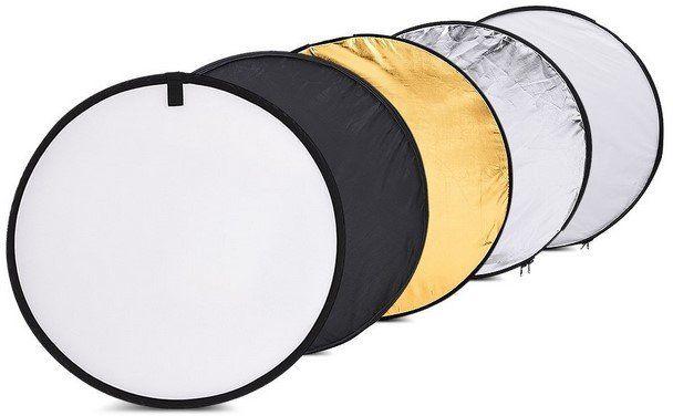 Andoer Falt  & Lichtreflektor (60cm) im Set mit 5 Oberflächen für 7,55€ (statt 12€)   Prime