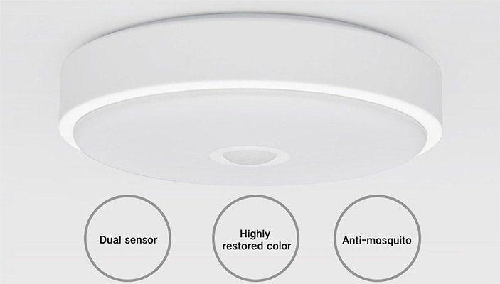 Xiaomi Yeelight YLXD09YL - LED-Deckenleuchte mit Bewegungsmelder für ...