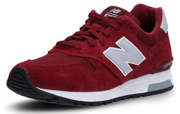"""New Balance Sneaker """"MI565"""" in Dunkelrot für 39,99€ (statt 50€)"""