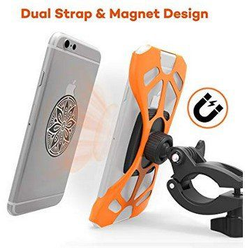 VA SH014   Handyhalterung mit Doppelband & magnetischer Stütze für 5,99€ (statt 10€)   Prime