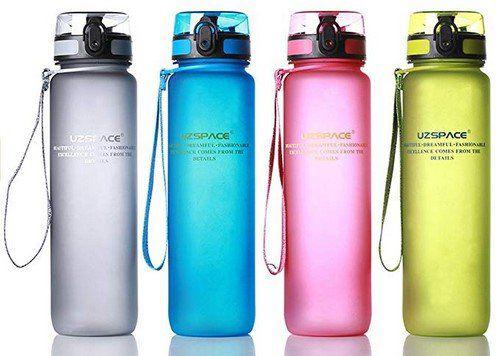 Auslaufsichere Trinkflasche (950ml) aus Tritan für 9,68€ (statt 20€)