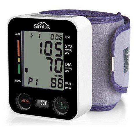 Handgelenk Blutdruckmessgerät für bis zu zwei Nutzer für 9,99€ (statt 20€)