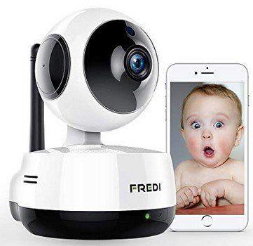 FREDI 890   Schwenkbare 1080p IP Kamera mit vielen Funktionen für 29,99€ (statt 50€)