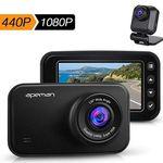 apeman C860 – 1440p Dashcam mit Rückkamera für 76,99€ (statt 110€)