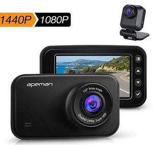 apeman C860   1440p Dashcam mit Rückkamera für 76,99€ (statt 110€)
