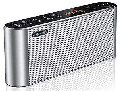 NeKan Bluetooth Radio & Lautsprecher für 16,99€ (statt 34€)