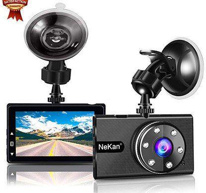 NeKan  JLY   1080p Dashcam mit 170° Weitwinkel & vielen Extras für 25,79€ (statt 43€)