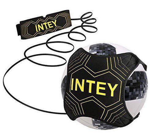INTEY Fußball Kick Trainer mit elastischem Band für 4,99€   Prime