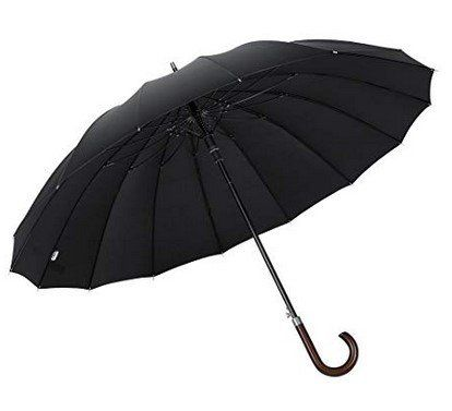 Sturm  & Winddichter Regenschirm (Ø 120cm) für 15,49€ (statt 24€)