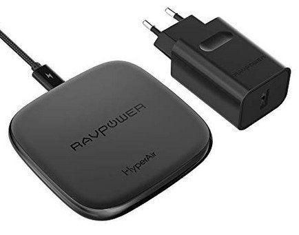 RAVPower RP PC066   10W Qi Ladegerät inkl. QC 3.0 Adapter für 19,99€ (statt 29€)