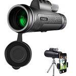 PiAEK HD – 12×50 Monokular Teleskop für 18,19€ (statt 28€)