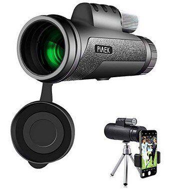 PiAEK HD   12x50 Monokular Teleskop für 18,19€ (statt 28€)