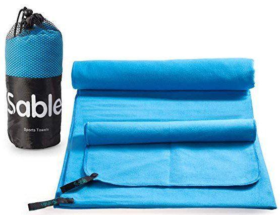 Sable Mikrofaser Handtücher (70x140 & 30x50cm) für 9,79€ (statt 14€)   Prime