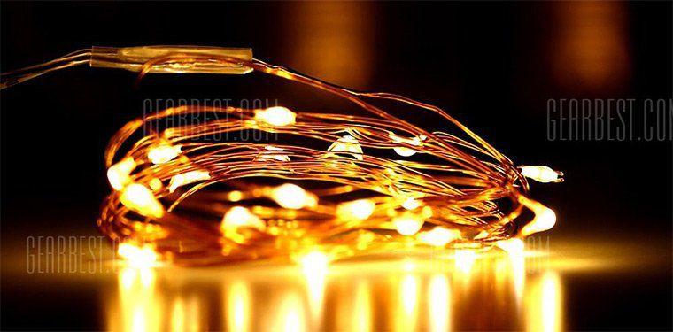 2m Deko LED Streifen mit 20 LEDs für 0,88€