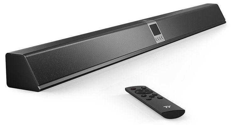 TaoTronics TT SK019   Soundbar mit 40W, Bluetooth & mehr für 55,99€ (statt 70€)