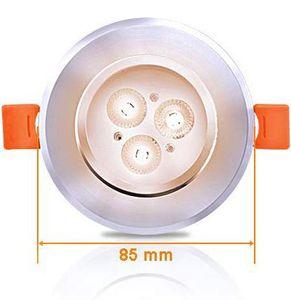 30% Rabatt auf diverse LED Spotleuchten im 6er oder 12er Pack von Hengda ab 7,69€   Prime