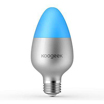 Koogeek   WiFi LED Glühbirne mit App Anbindung für 19,99€ (statt 36€)
