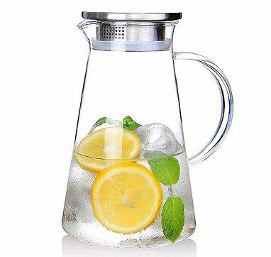 Glaskaraffe (2 Liter) mit Deckel für 11,49€ (statt 23€)
