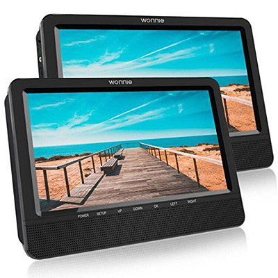 10,5 Zoll DVD Player & LED Monitor für 79,99€ (statt 160€)