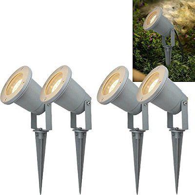 Hengda Garten Scheinwerfer in verschiedenen Sets (2   8 Leuchten) ab 9,79€ (statt 14€)