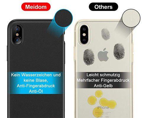 Meidom – schmale Schutzhülle für iPhone XS Max für 8,09€ (statt 11€) – Prime