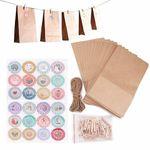 24 Papiertüten – Adventskalender zum Befüllen für 5,99€ – Prime