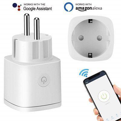 Amouhom Smart Wifi Steckdosenadapter für 12,05€ (statt 19€)