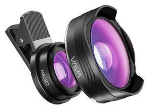 VAVA Weitwinkelobjektiv und Makroobjektiv für Smartphones für 9,93€ (statt 14€)