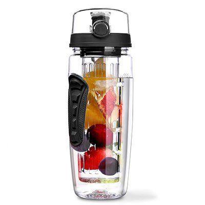 Trinkflasche (950ml) mit Früchtebehälter für 6,57€ (statt 11€)   Prime