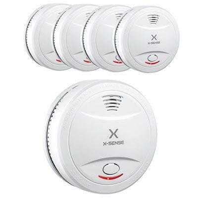 X Sense SD12   10 Jahres Rauchmelder (DIN EN 14604) im 5er Pack für 36,99€ (statt 67€)