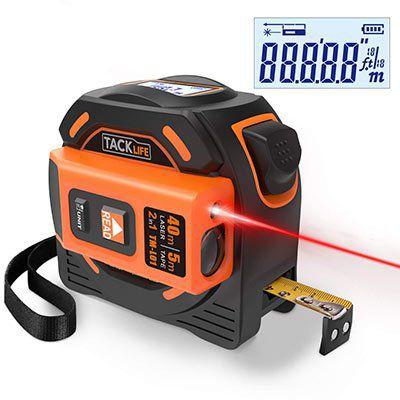 Tacklife TM L01   Laser Entfernungsmesser (40m) für 20,99€ (statt 33€)
