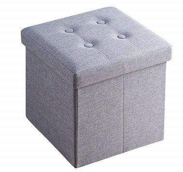 Sable Sitzhocker (38 x 38 x 38 cm) mit Aufbewahrungsfunktion für 9,99€ (statt 20€)