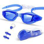 Schwimmbrille mit Nasenklammer & Ohrstöpsel für 3€ (statt 10€) – Prime