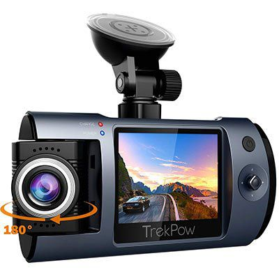 ABOX TrekPow T1   1080p Dashcam mit 170° Weitwinkel für 39,19€ (statt 56€)