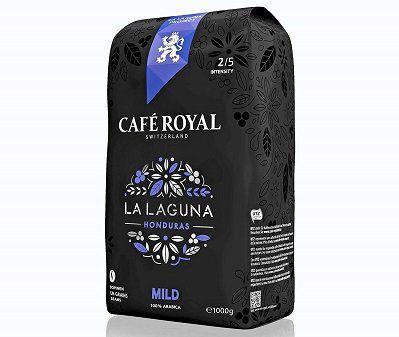 1kg Café Royal La Laguna Mild Kaffeebohnen für 12,74€ (statt 17€)